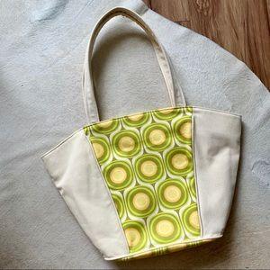 Vintage Print Beach or Baby Bag